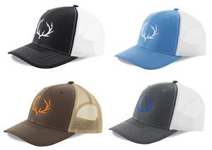 Fishing Hats Fish Hook Logo Snapbacks