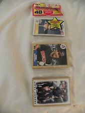 `-1 1987 Topps Rack Pak Baseball Cards 48 cards per pack Factory Sealed Packs