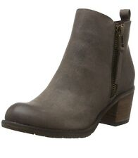 Buffalo Women's B241F-42 P2066C PU Ankle Boots Grey-Grau (Taupe 01) 3.5 UK 36 EU