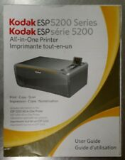 Kodak ESP 5200 Series Printer User Guide Manual, 5250 5260, English & Spanish