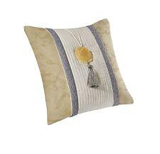 """Natori Lotus Temple 18x18"""" Square Pillow, Gold/Pear NA30-1584"""