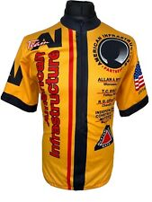 Phillips Blueshirt American Infrastructure Cycling Jersey Shirt Short Sleeve XL