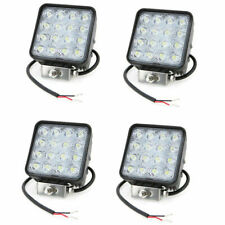 4X 48W LED LUCE FARO 12V LAMPADA DA LAVORO FARETTO AUTO BARCA CAMION KLW SU