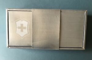 Rare Original Swiss Army Knife Victorinox Classic SD & INOX 130th Anniversary