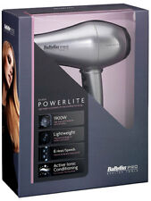 Babyliss Pro Powerlite Tourmaline Hair Dryer 1900W  - Silver