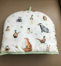 Wrendale Designs Pimpernel English Woodland Animals Toaster Cover Fox Owl NWOT