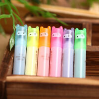 6Pcs/Set Painting Cartoon Mini Fluorescent Pen Ninja Highlighter Marker Useful