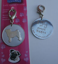 Pug Dog ID Tags