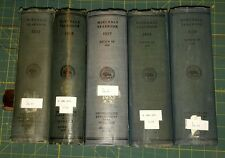 """1935 thru 1939 """"Minerals Yearbook"""" 5 years total. U.S. Bureau of Mines Hardbound"""