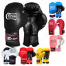 Junior Boxing Gloves Kids Leather Boxing Sparring Children 4,6,8 OZ LOW PRICE