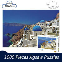 Aegean Sea Landscape Puzzles Jigsaw Adults Kids Assembly Puzzles Toys 1000 Piece