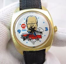 GERALD FORD,Win With Dial,Manual Wind.ULTRA RARE! MEN'S WATCH,531,L@@K