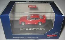 "Herpa 102056 BMW M3 GTR (E36) rot ""BMW History Series"" PC-Modell 1:87 HO"