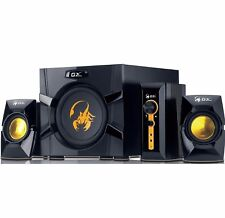 Genius SW-G2.1 3000 GX Gaming Speakers - Subwoofer, 2.1 Channel, 70W