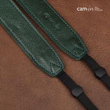Grün Leder DSLR Kamera Gurt von Cam