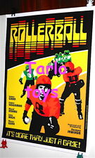 ROLLERBALL - James Can - 1975   - movie  cinema poster -