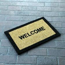 Welcome Coir Doormat Indoor Outdoor Door Mat 60 X 40 Cm