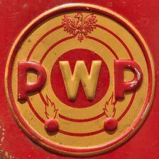 1950s Poland Polish EMPTY & SAFE Gun Powder Tin Box FALCON Early Post WWII Type