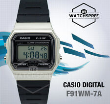 Reloj digital Casio F91WM-7A estándar
