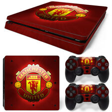 Manchester United FC Vinyl Skin Sticker Decal Protector Playstation PS4 Slim