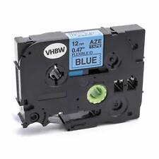 Cassetta nastro 12mm nero > blu flexi per Brother TZE-FX531,TZeFX531