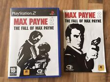 PS2 :    MAX PAYNE 2 THE FALL OF MAX PAYNE          PAL FR
