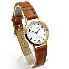 Ravel Ladies Super-Clear Easy Read Quartz Watch White Face R0102.14.2A