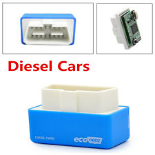 Blue Eco OBDII OBD2 Economy Fuel Saver Tuning Box Chip For Diesel Car Gas Saving