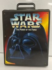 Star Wars Power of the Force POTF 1996 Figure Carrying Case Darth Vader w/ Tray