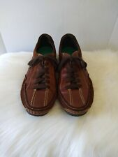 Pikolinos Fuencarral Mens Driving Shoes Lace Up Leather Casual Sz 43 US 9.5 - 10