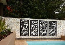 SUPER SALE 4 Pack Indoor Outdoor Garden Decorative Privacy Screens