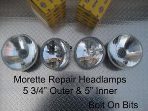 Full Outer & Inner Headlights Morette Corsa B Impreza 106 Saxo Mondeo Mk1 kits