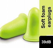 3M Earsoft FX Alto Rendimiento tapones para los oídos de espuma SNR39dB