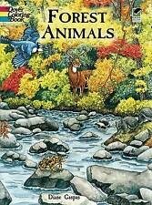 NEW Forest Animals Coloring Book (Dover Nature Coloring Book) by Dianne Gaspas