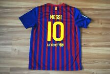 63248cbbe82 13-15 Y BARCELONA FC SPAIN 2011/2012 HOME FOOTBALL SHIRT JERSEY CAMISETA  MESSI