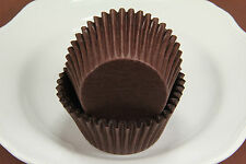 1000x, 2.25'' Paper Cupcake Muffin Liners, Baking Cups, Brown, Jumbo