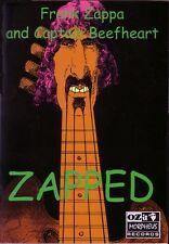 Frank Zappa Zapped Rare book deleted stock new condition