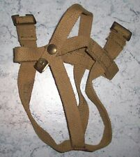 WW2 WATER BOTTLE CARRIER - 37 PATT WEBBING KHAKI MINT BRITISH CANADIAN
