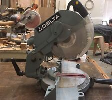 "Delta 10"" Compound Miter Saw #36-220 Sturdy & Well Balanced"