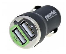 Powerlet Cigarette Adapter to Dual USB Type A and iPod 3G DPD-102-24