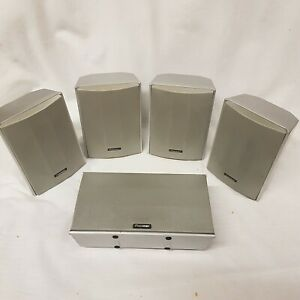 Pioneer Surround Sound Speakers S-DV 303 75w 6 Ohms For DVD Receiver Player