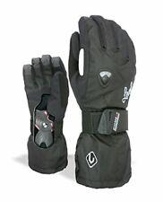 Warm & Breathable Women's Long Cuff Snowboard Gloves w/ Wrist Guard (S)