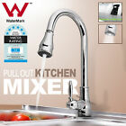 LEAD FREE Vintage Kitchen Sink Mixer Tap Faucet Brass Pull Out Spray Head WELS