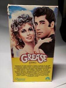 Grease (VHS, 1982) John Travolta, Olivia Newton-John