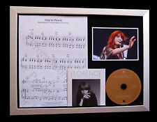 FLORENCE+MACHINE Ship To Wreck TOP QUALITY CD FRAMED DISPLAY+EXPRESS GLOBAL SHIP