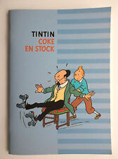 Cahier d'écriture Vierge ETAT NEUF Tintin matériel scolaire  Grand Format