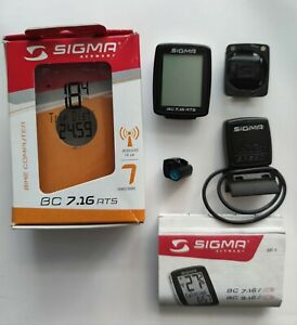 Sigma BC 7.16 ATS Fahrradcomputer