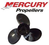 "Mercury Mariner Black Max Outboard Propeller 25-60 HP (10 3/8"" x 13"")"