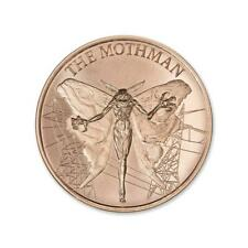Cryptozoology Collection The Mothman 1 AVDP oz Copper PRESALE USA Made BU Round