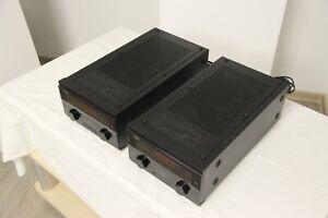 NEC M-50 Paar Mono-Endstufen Pair of mono amplifiers Verstärker